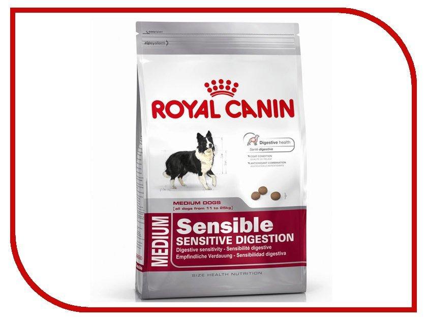 Корм royal canin sensible digestive