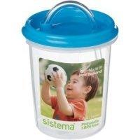 Sistema Детская чашка с трубочкой Dinkee Straw 250 мл