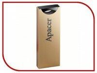 USB Flash Drive 16Gb - Apacer Handy Steno AH133 Gold AP16GAH133C-1