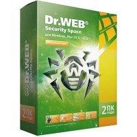 Dr.Web Sec.Space 2г/2пк
