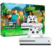 Microsoft Xbox One S 500 Gb + Minecraft (ZQ9-00048)
